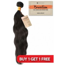 Sensationnel Bare & Natural Brazilian Unprocessed H.H NATURAL WAVY 12""