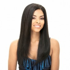 Janet Collection Prestige One Alco Remy Yaky Remy Human Hair Weaving 10 Inch